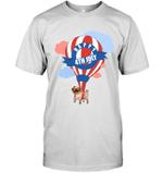 Pug - Happy 4th July T Shirts bestfunnystore.com T Shirt
