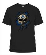 News Skull Royals MLB Kansas City Royals T Shirt
