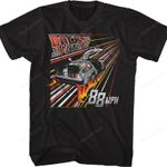 Retro Fire Tracks Back To The Future T-Shirt BACK TO THE FUTURE SHIRTS band music singer T Shirt