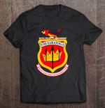 Uss Saratoga Invictus Gallus Gladiator United States Navy CV-60 United States Navy Uss saratoga T Shirt