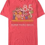 Retro Super Mario Bros. T-Shirt Best Selling 80 T Shirt