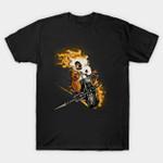 Cubone Fantasma T-Shirt Anime Cubone Ghost Rider Marvel Comics Mashup Nintendo Pokemon Superhero Video Game T Shirt
