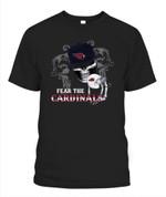 Fear The AZ Cardinals NFL Arizona Cardinals T Shirt