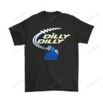 Bud Light: Dilly Dilly! Northern Arizona Lumberjacks Neon Light Shirts Bud Light Dilly Dilly football Holiday Lumberjacks NCAA Neon Light NFL T Shirt