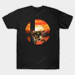 Ultimate Space Hunter T-Shirt Metroid Nintendo Samus Aran Super Smash Bros Video Game T Shirt