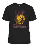 Jason Voornees Redskins You don't scare me NFL Washington Redskins T Shirt