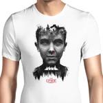 Upside Down Graphic Arts T Shirt