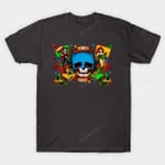 Battoo T-Shirt Batman Comic Book DC Comics Harley Quinn Poison Ivy Superhero Supervillain tattoo T Shirt