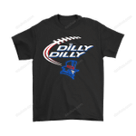 Bud Light: Dilly Dilly! Duquesne Dukes Neon Light Shirts Bud Light Dilly Dilly Dukes Duquesne Dukes football NCAA Neon Light NFL T Shirt
