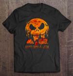 Happy Camp-O-Ween Jack Skellington Halloween NIGHT BEFORE CHRISTMAS T Shirt
