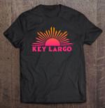 Key Largo Florida Sun Ombre Sunset Version Florida Key Largo Ombre Sunset sun T Shirt