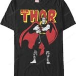 Mighty God of Thunder Thor T-Shirt MARVEL COMICS SHIRTS movie T Shirt