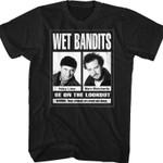Wet Bandits Home Alone Shirt 90S MOVIES T-SHIRTS T Shirt