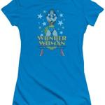 Posing Wonder Woman DC Comics T-Shirt DC COMICS SHIRTS movie T Shirt