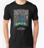 Post-Punk Bat: Control T-Shirt Batman DC Comics Joy Division Parody Superhero Unknown Pleasures T Shirt