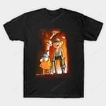 Adventure in the temple T-Shirt Adventure Time Cartoon Indiana Jones Parody TV T Shirt