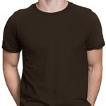 Men's T-Shirt - Brown - Blank Apparel Graphic Arts T Shirt