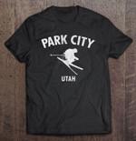 Park City Utah Skiing Park City Ski skiing Utah T Shirt