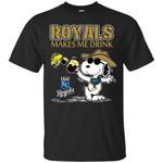 Kansas City Royals Makes Me Drinks T Shirts bestfunnystore.com T Shirt