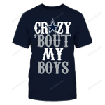Crazy 'bout My Boys NFL Dallas Cowboys 2 T Shirt