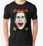 American Psycho The Killing Joke Edition T-Shirt American Psycho Batman villain Christian Bale DC Comics Joker Mashup movie Parody Supervillain T