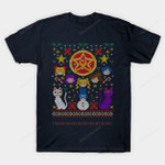 Merry Senshi Sweater T-Shirt Anime Manga Parody Sailor Moon ugly Christmas sweater T Shirt