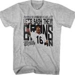 Bash Their Brains In Major League T-Shirt 80S TV T Shirt