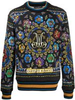 Dolce & Gabbana Stained-Glass Window Sweatshirt SS20
