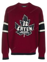Dsquared2 Caten Sweater Red FW19