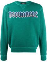 Dsquared2 Crew Neck Logo Sweater FW19