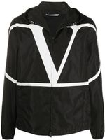 Valentino VLOGO Print Hooded Jacket SS20