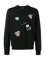 Dolce & Gabbana Panda Patched Sweatshirt