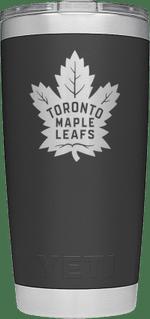 Maple Leafs Yeti Rambler 20oz Tumbler - Black