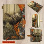 Spread Store Moose Hunting Notebook 1802  All Over Printed