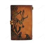 Spread Store Old Deer Hunting Notebook 1302 1702  All Over Printed