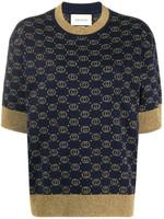 Gucci Interlocking G Jacquard-Knit Top SS20