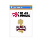 Raptors 2019 NBA Champs 2-Pack Magnet Set