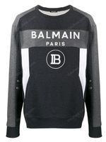 Balmain Colour Block Logo Sweatshirt FW19