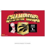 Raptors 2019 NBA Champs 3' x 5' Flag