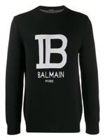 Balmain Logo Knitted Jumper FW19