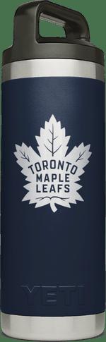 Maple Leafs Yeti Rambler 18oz Bottle - Navy