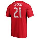 Toronto FC Fanatics Men's Osorio Player Tee
