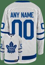 Maple Leafs Breakaway Men's Away Jersey - CUSTOM