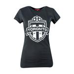 Toronto FC Ladies Black & White Tee