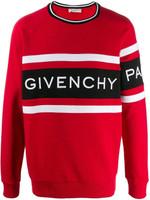 Givenchy Logo Sweatshirt Red SS20
