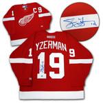 Steve Yzerman Signed Red Wings Jersey