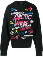 Dsquared2 Artic Patch Pattern Sweatshirt FW19