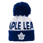 Maple Leafs Infant Jacquard 2-Tone Cuffed Pom Toque