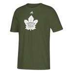 Maple Leafs Adidas Men's Camo Tee