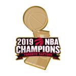 Raptors 2019 NBA Champs Logo Lapel Pin